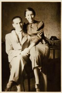 Fira Mełamedzon i Józio Lustig, jej chłopak, student Uniwersytetu Poznańskiego. 10 maja 1937